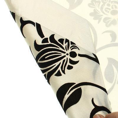 """12""""x78"""" Flocked Table Decor Cloth Dust"""