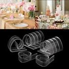 12Pcs Plastic Clear Tablecloth Table Cover Clips Holder Clam