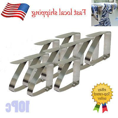 12x Table cloth clamps desk skirt cover wedding party picnic