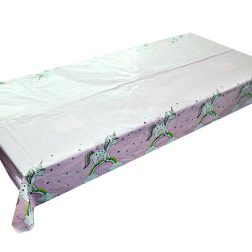 130 220cm tablecloth disposable table cover kids