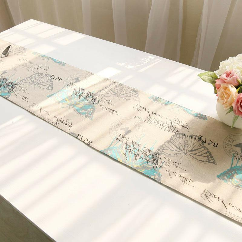1Pc Table Cotton Insect Table Cover Tassels New