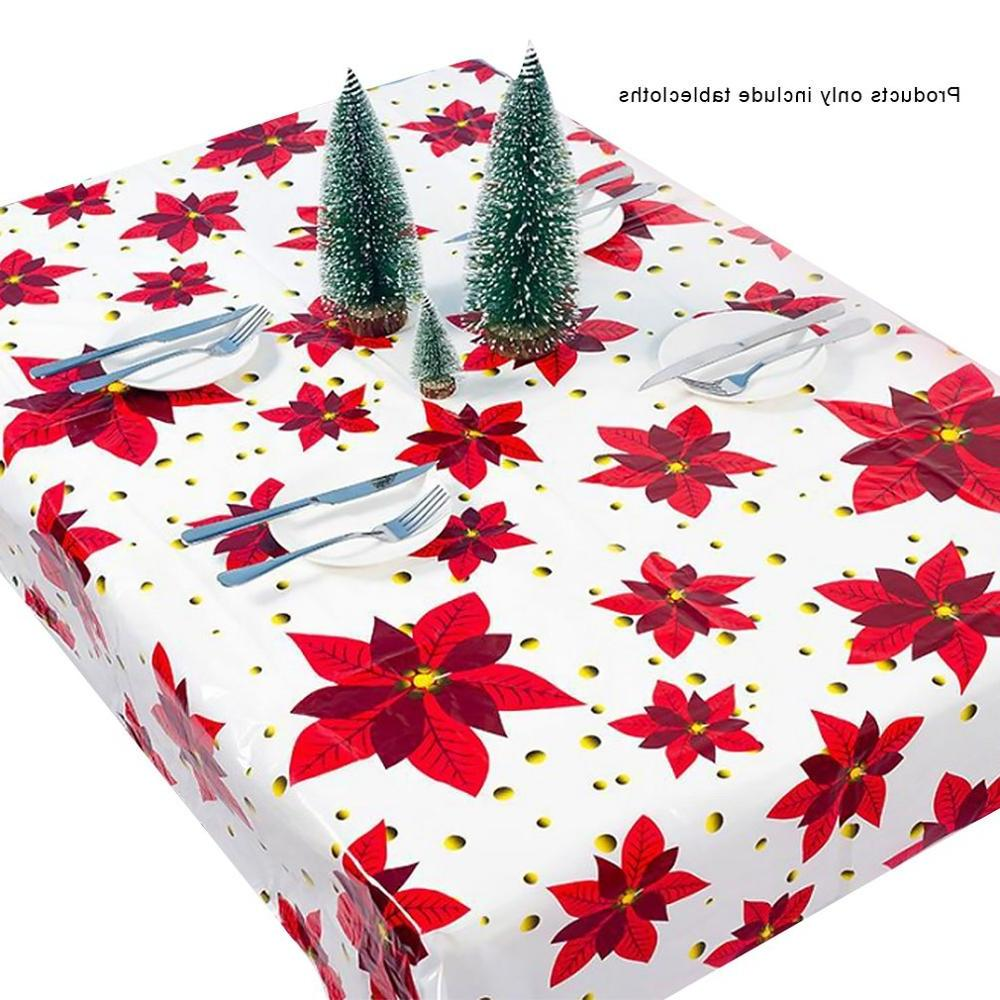 1pcs 110*180cm <font><b>Table</b></font> cloth Dinner Party Year Tablecloth Christmas Decorations