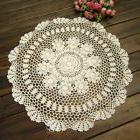 20'' Tablecloth Lace Doily Crochet Handmade Cotton Table Cov