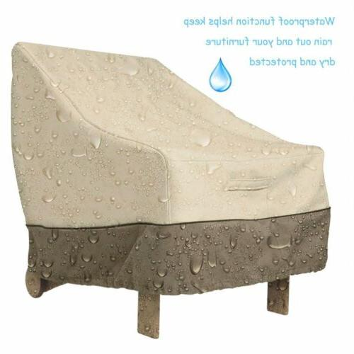 2019 High Back Chair Furniture Cover