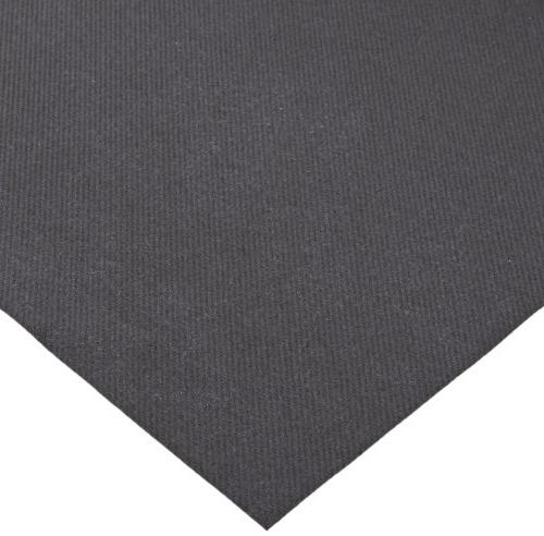 """Hoffmaster 220836 Linen-Like Color In Tablecover, Length 50"""" Black"""