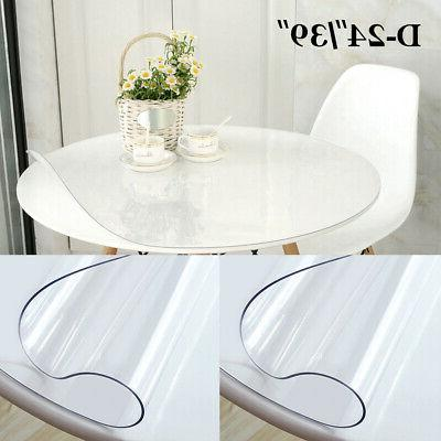 """24""""1.5mm Waterproof Tablecloth Protector Cover"""