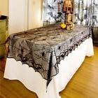 240*120cm Lace Spider Web Tablecloth Tablecover Rectangle Ha