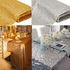 "39""x58"" Square Sequin Tablecloth Cover Sparkly Wedding Par"