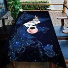 3D Map line 98 Tablecloth Table Cover Cloth Birthday Party E