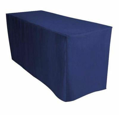 4' Fitted Polyester Table Cover Event