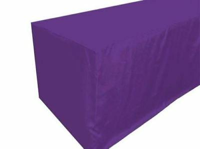 4' ft. Fitted Table Wedding Banquet Event Tablecloth