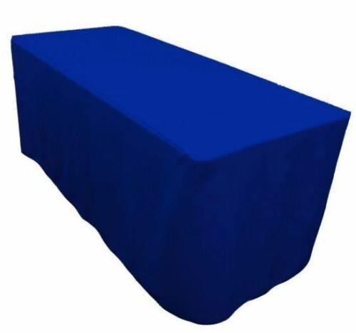 4' ft. Fitted Table Wedding Banquet Event COLORS