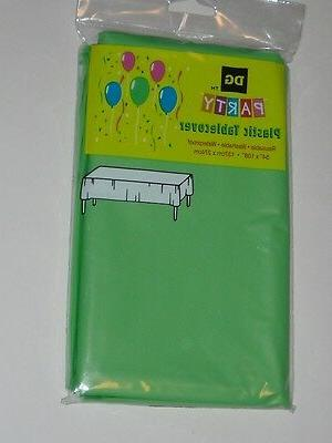 4 lot table cover plastic protector large