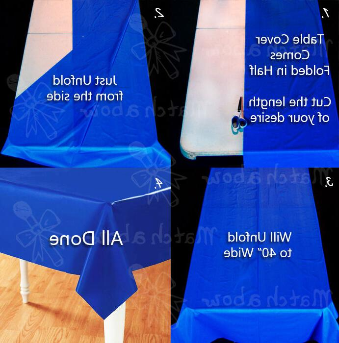 Plastic Banquet Party Cover Roll