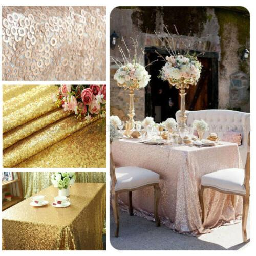 "40""x59"" Rectangular Sparkly Sequin Tablecloth Table Cloth Co"