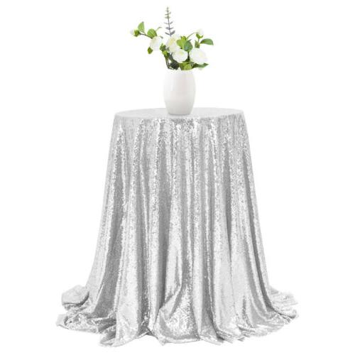 "48"" Round Table Cover Wedding"