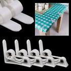 4pcs spring table cloth cover clamps clip