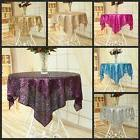 """50""""x50"""" Colorful Wedding Beautiful Sequin Table Cloth / Over"""