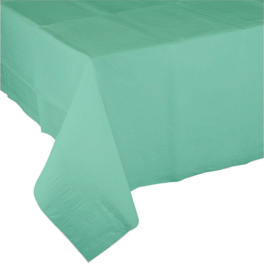 "54"" x 108"" Mint Green Wedding Birthday Party Tableware Paper"