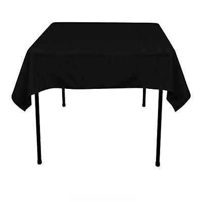 GFCC 54 x 54 -Inch Polyester Tablecloth, Square Table Cover-