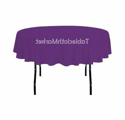 """58"""" round Tablecloth Cover Wedding Dinner"""