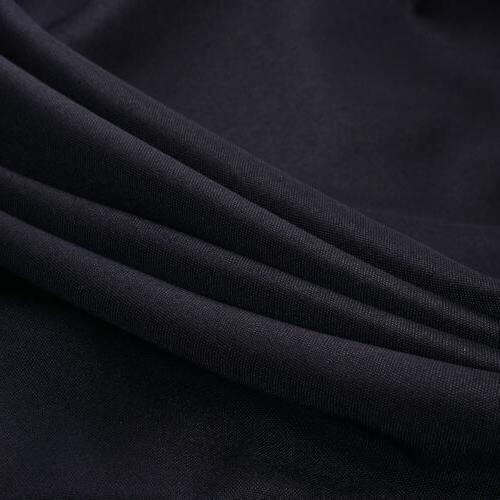 6 ft Black Table Cover Decor