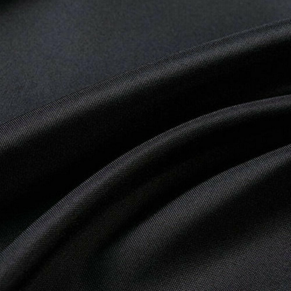 6 Black Polyester Cover For Wedding Decor