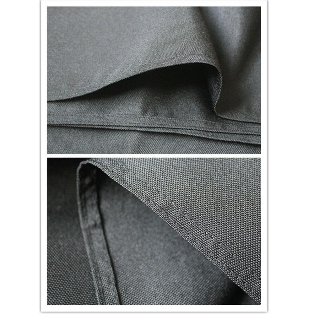 6 FT Black Polyester Cover For Wedding Party