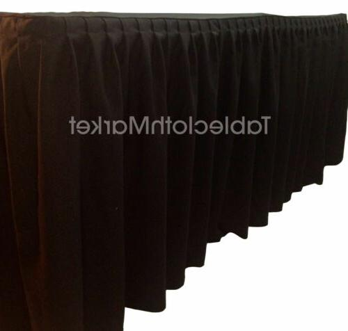 4' ft. Table Skirting Top Topper Trade show