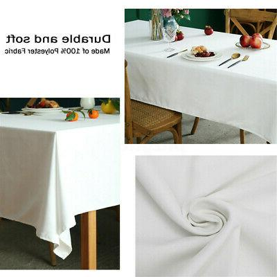 "60""X102"" Tablecloth Table for Wedding Party Events"