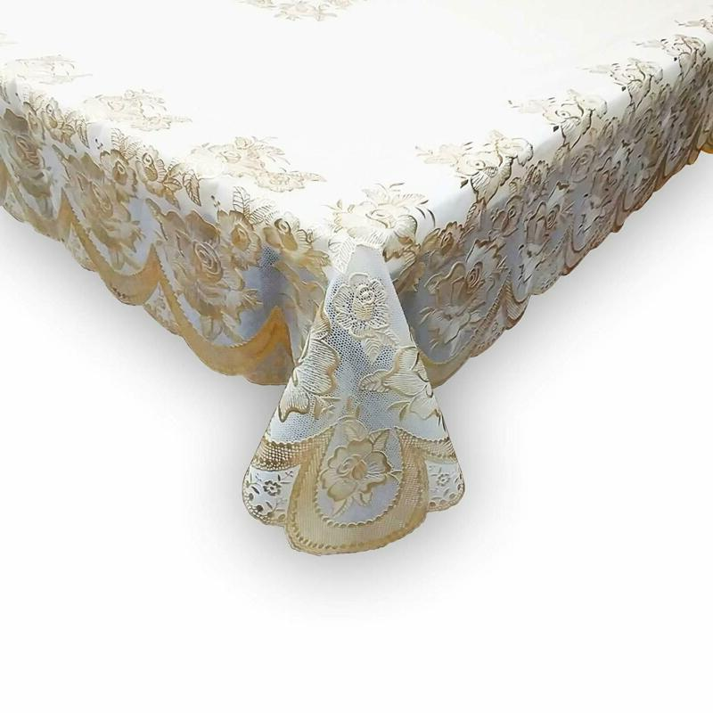 60 x90 tablecloth plastic clear vinyl table