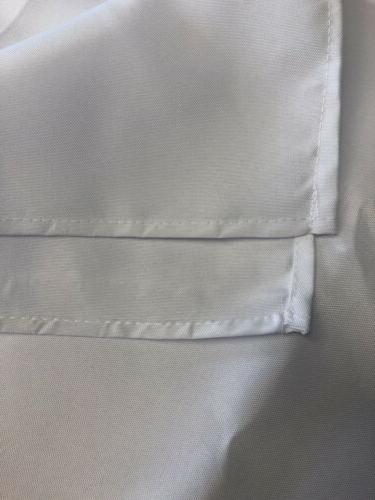 60x102 in. Tablecloth. White.