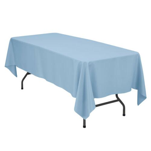 """60""""X102"""" Rectangle Poly Table for Party"""