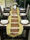 "60x16"" Indian Luxury Table Runner Tapestry Kitchen Coffee Ta"