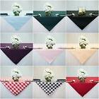 60x60 inch Square Overlay Tablecloth, 100% High Quality Poly