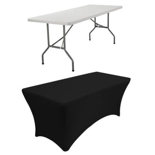 6ft Tablecloth Rectangular Elastic Protector