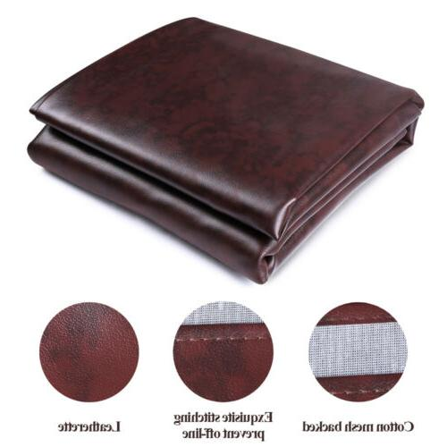 Pool Table Cover Heavy Duty Fitted Billiard Cover Leatherett