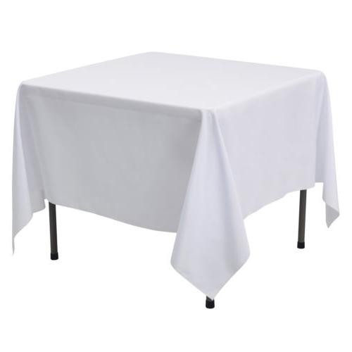 """70x70"""" Tablecloth Table for Wedding Party"""