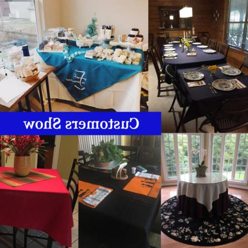 """70x70"""" Table Party Events"""