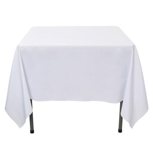 """70x70"""" Tablecloth Table for Wedding Party Events"""