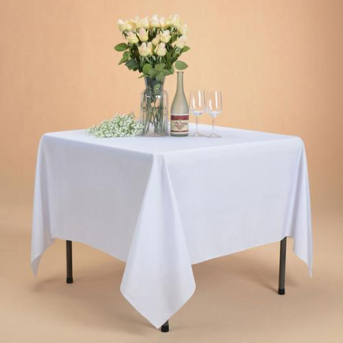 """70x70"""" Table Cover for Party Banquet Events"""