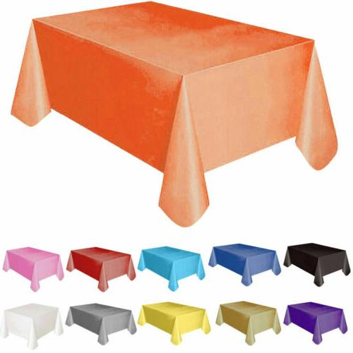 "72""*54"" Plastic Rectangle Cover Cloth Wipe Party"