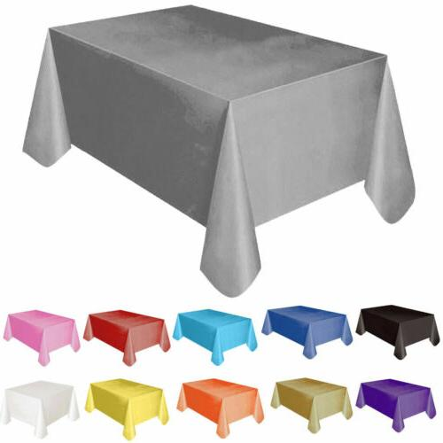 "72""*54"" Plastic Table Cover Party Covers"