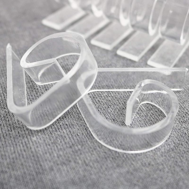 72 Tablecloth Clips, <font><b>Clear</b></font> Cloth Party