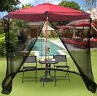9/10FT Umbrella Table Screen Cover Mosquito Bug Insect Net O