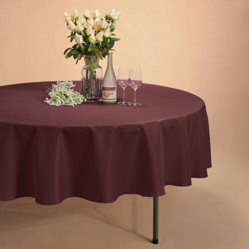 "90"" Polyester Table for Parties Dinner"