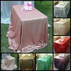 "90''x132"" Sequin Table Cloth Overlay Cover Runner Fr Wedding"