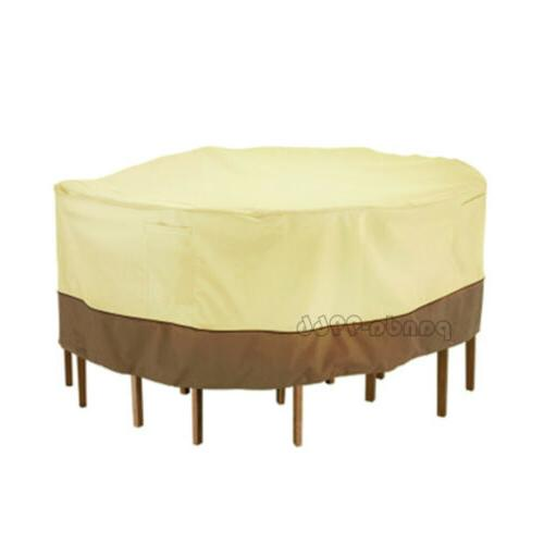 """94"""" Cover Table Chair Outdoor Round"""