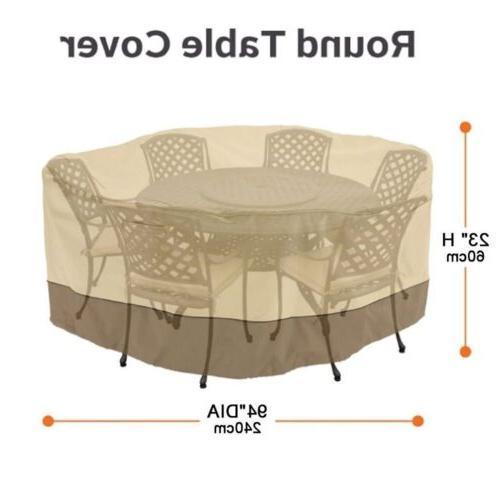 94 veranda patio set cover table