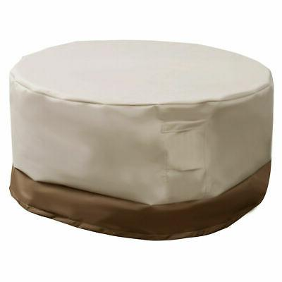 "94"" Waterproof Outdoor Large Round Table Cover Patio Furnitu"